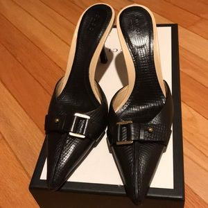 GUCCI Shoes MULE  size 6 Leather